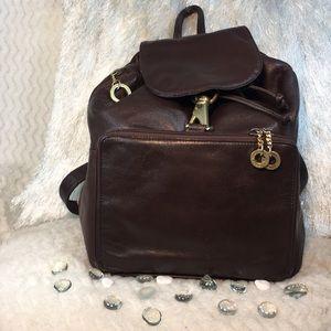EUC Perlina Leather Backpack Bag